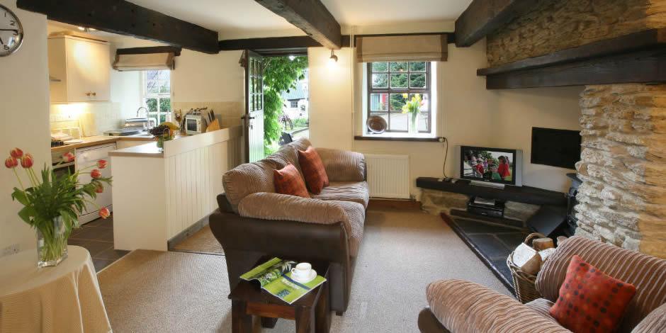 Foxglove's cosy sitting room