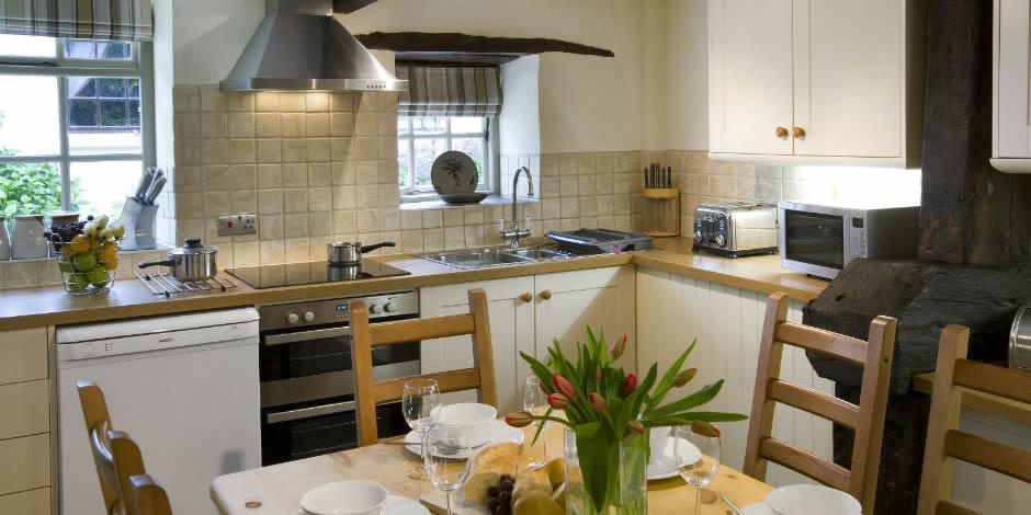 Honeysuckle's dining kitchen