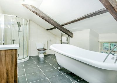 Ivy slipper bathroom