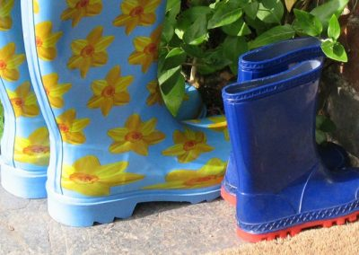 Wellies - just in case!