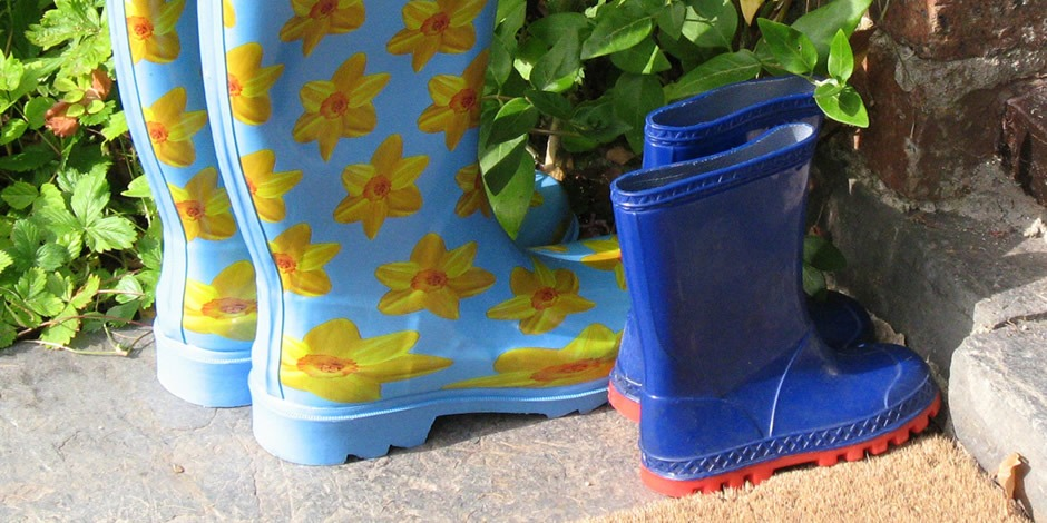 Wellies – just in case!