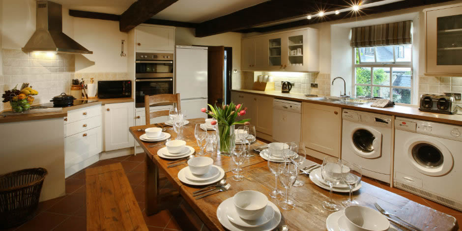 Spacious fully equipped kitchens