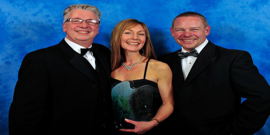 Pembrokeshire Tourism Award Winners With Chris Ebsworth – sponsored this year (2013) By Folly Farm