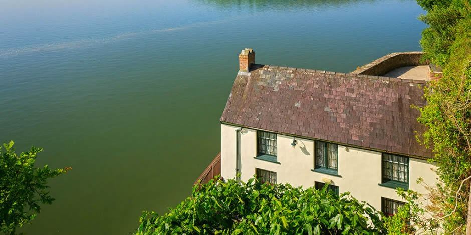 "Dylan Thomas' Boat House – where he wrote ""Under Milk Wood"""