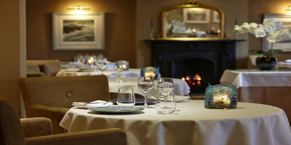 The Grove Restaurant – superb for lunch, afternoon tea and dinner