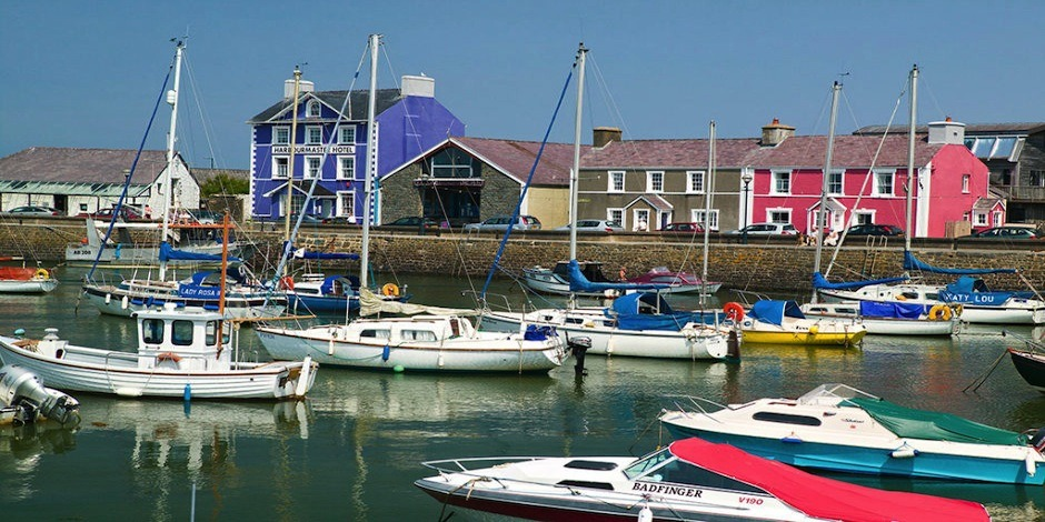 The Harbourmaster Restaurant in Aberaeron
