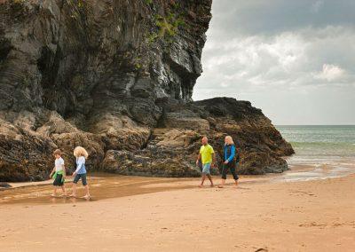 Llangranog beach stroll