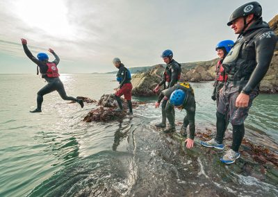 Coasteering - just jump in!